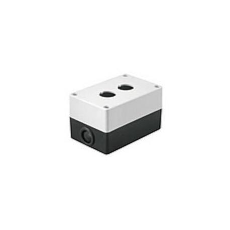 Корпус КП102 для кнопок 2места белый IEK BKP10-2-K01