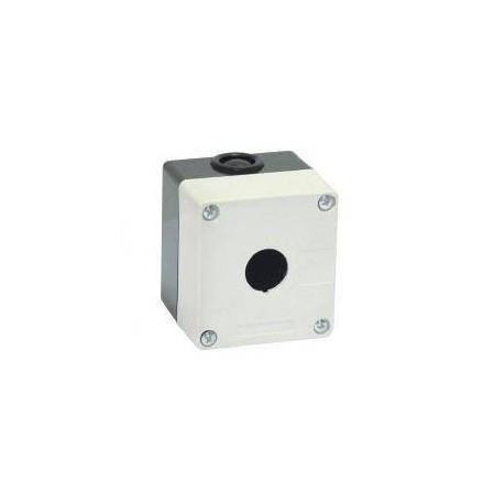 Корпус КП101 для кнопок 1место белый IEK BKP10-1-K01