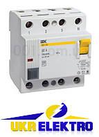 Выключатели дифференциальные ВД1-63 (УЗО тип АС)