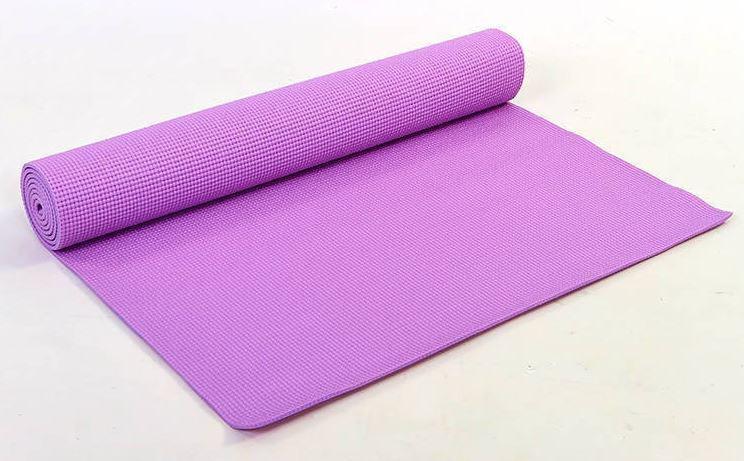 Коврик для фитнеса PVC 4мм Yoga mat р-р 1,73м*0,61м*4мм