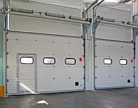 Промышленные секционные автоматические ворота Alutech в Киеве, фото 1