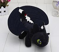 Оригинальная плюшевая игрушка от DreamWorks.  Дракон Беззубик Как приручить дракона 26 см., фото 1