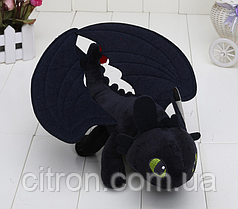 Оригінальна плюшева іграшка від компанії DreamWorks. Дракон Беззубик Як приручити дракона 26 див.