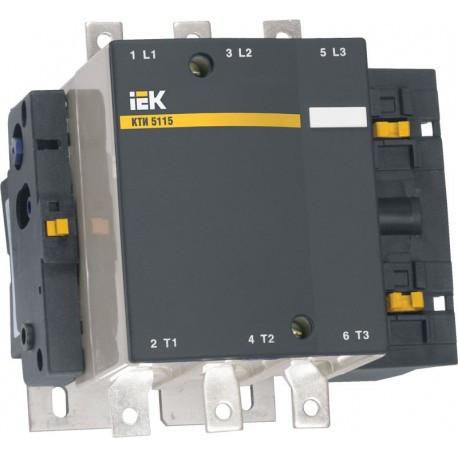 Контактор (115 А 400 В/АС-3) IEK КТИ-5115