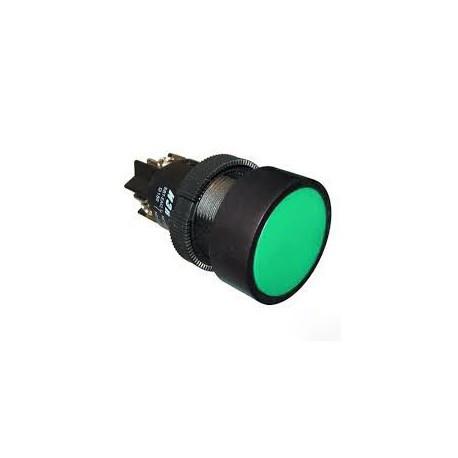 """Кнопка SВ-7 """"Пуск"""" зеленая 1 Н.О. (d22мм/240B) IEK BBT40-SB7-K06"""