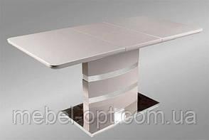 Современный раскладной стол Montana DT-115 капучино 1200 (1600) х 800 х 760 см, модерн