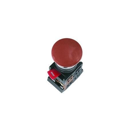 """Кнопка АЄА-22 """"Грибок"""" червоний (d22мм 1 Н.О.+1 Н.З.) IEK BBG30-AEA-K04"""