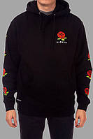 Толстовка чорна RipNDip Rose logo   Худі стильна, фото 1
