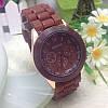 Женские часы Geneva Женева коричневые