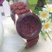 Женские часы Geneva Женева коричневые, фото 1