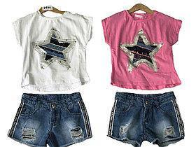 Літні комплекти для дівчаток ОПТ