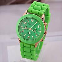 Женские часы Geneva Женева зеленые