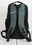 Городской рюкзак. Стильный рюкзак. Рюкзак Adidas. Рюкзак портфель. Мужские рюкзаки. Женские рюкзаки., фото 6