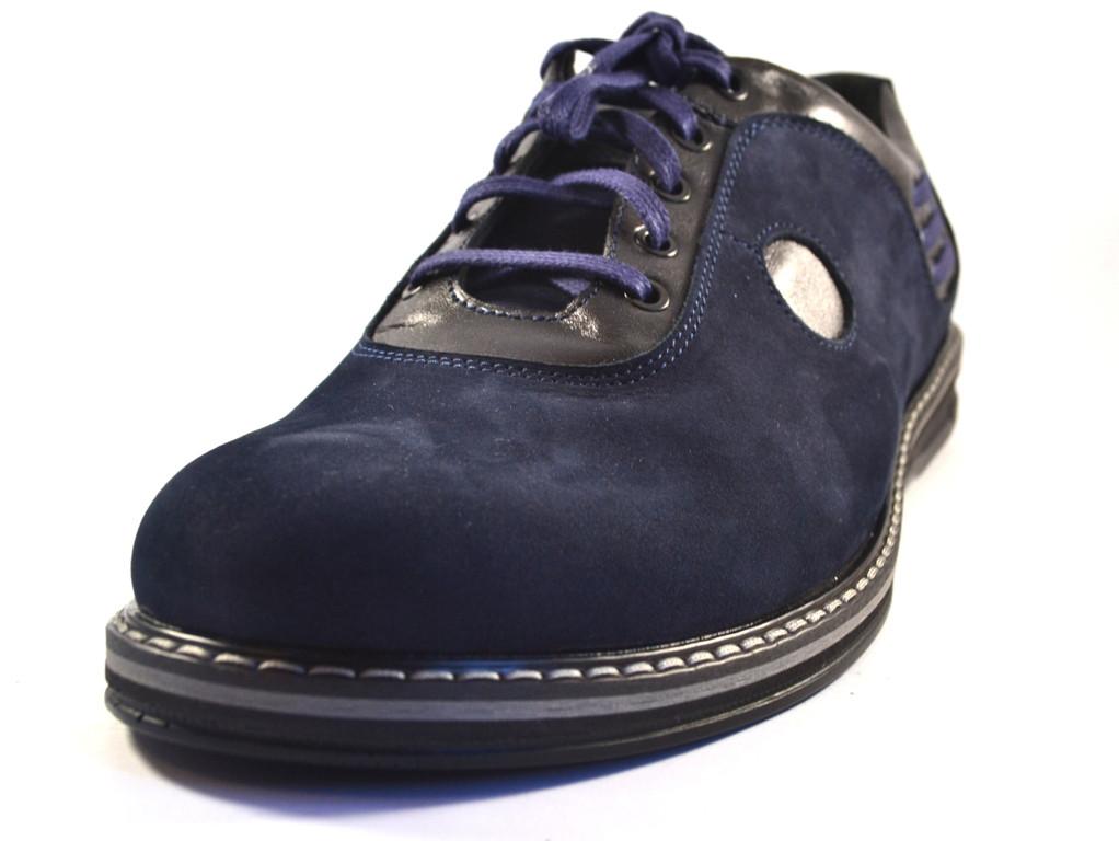 f4c1c6b46 Туфли мужские облегченные нубук синие Rosso Avangard Prince Blu Nub , цена  1 338 грн./пара, купить в Запорожье — Prom.ua (ID#678159511)