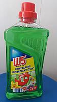 Средство для  мытья полов W5 универсальное, 1,25 л