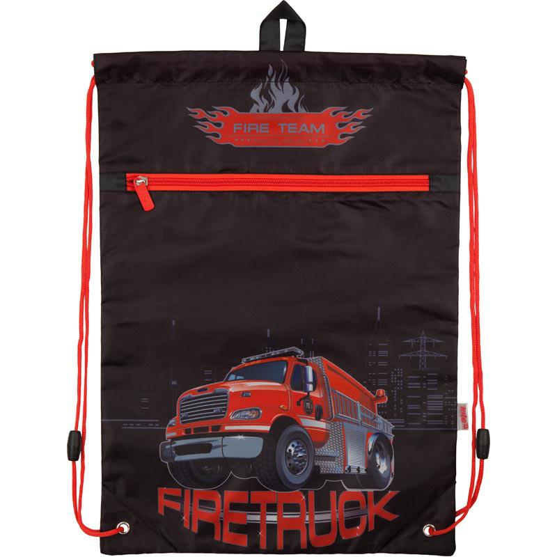 Сумка для взуття з карманом 601 Firetruck