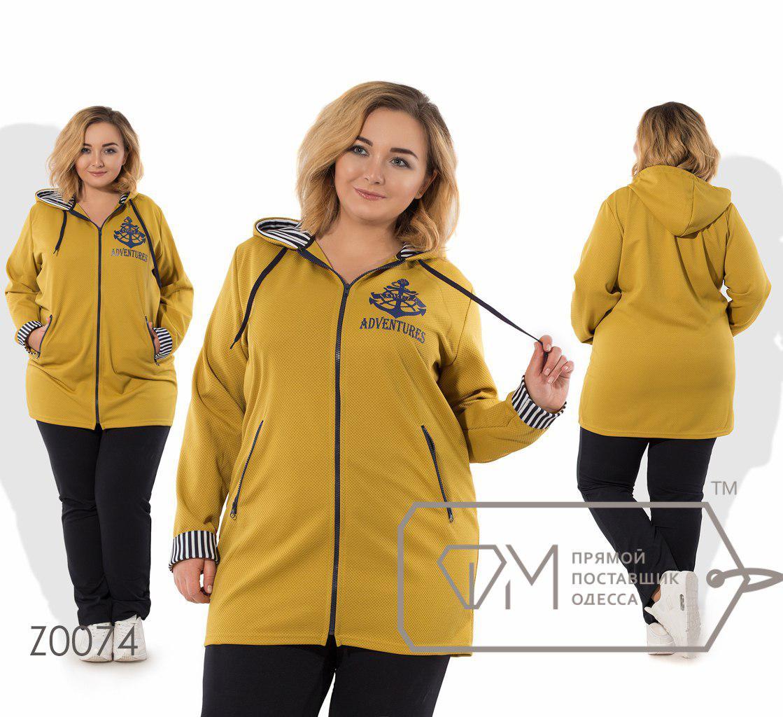 Женский спортивный костюм больших размеров 56-62 размер - Стильный бум в  Киеве 43712bd441d