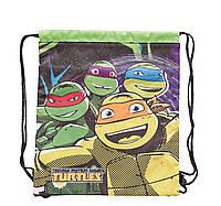 "Сумка для обуви с карманом ""Turtles"" 1 Вересня 553611"
