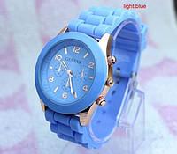 Женские часы GENEVA ЖЕНЕВА голубые