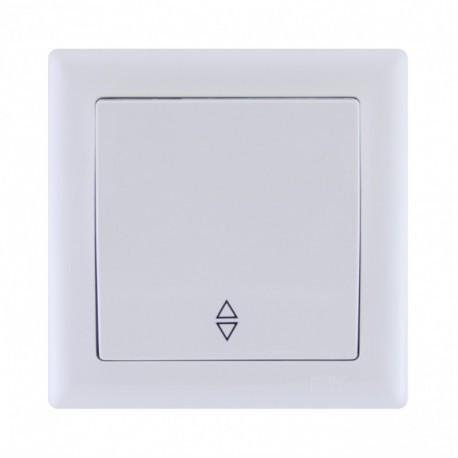 Выключатель 1-кл. проходной белый IEK BOLERO ВП01-02-0-ББ
