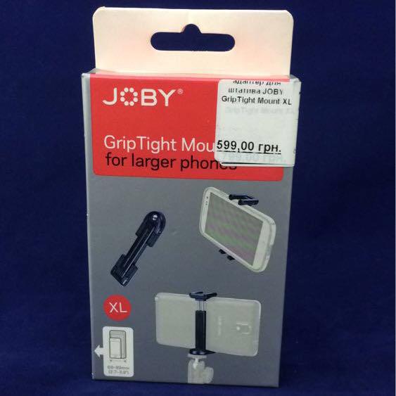Адаптер для штатива JOBY GripTight Mount XL (JB01323) EAN/UPC: 817024013233