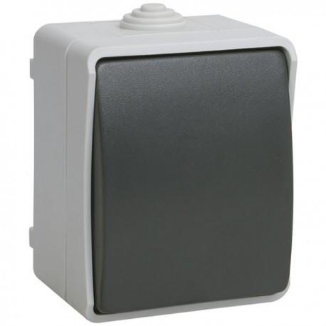 Выключатель 1-кл. IEK ФОРС ВС20-1-0-ФСр