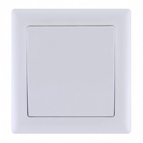 Выключатель 1-кл. белый IEK BOLERO ВК01-00-0-ББ