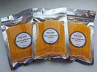 Микробраши желтые в пакетах 100 шт. (2 мм), фото 1