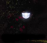 Декоративный Садовый светильник на солнечной батарее CAB77, фото 4