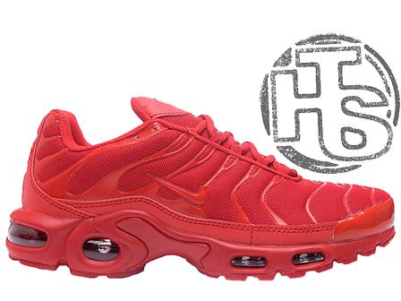 Мужские кроссовки реплика Nike Air Max Tn Plus TXT Pepper Red 647315-616, фото 2