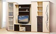 Модульная система для гостиной «Сакура» Мир Мебели