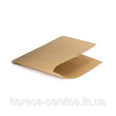 Пакет бумажный уголок 175*140 100шт., фото 2