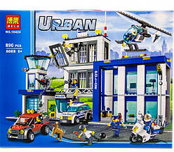 "Конструктор Bela ""Поліцейський відділок"" 890 дет. Аналог LEGO City"