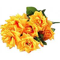 """Букет """"Роза"""" 13 цветов 68 см не прессованная A365013"""