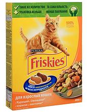 Корм ФРИСКИС сух для кошек курица/овощи 0,4 кг (Friskies)
