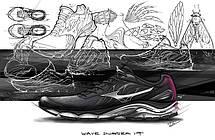Кроссовки Mizuno Wave Inspire 14 j1gc1844-01, фото 2