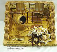Подарок для строителя из конфет , фото 1