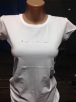 Стильная летняя футболка в расцветке, фото 1