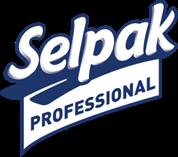 Selpak Pro. Premium Полотенце бумажное кухонное 3-х слой. 11,25 м. 8 рул. (3 уп / ящ)