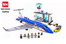 "Конструктор Lepin 02043 (аналог Lego City 60104) ""Пассажирский терминал в аэропорту"", 718 д, фото 2"