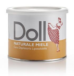"""Теплый воск для депиляции в банке Doll """"Натуральный"""", 400 мл (Xanitalia) Италия"""