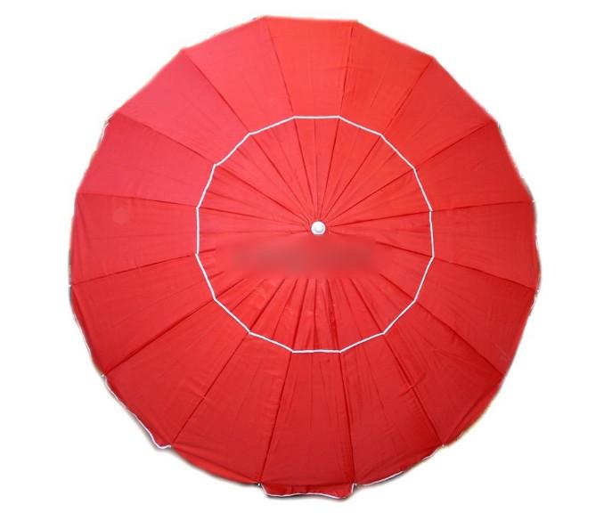 Зонт пляжный 2.5м с клапаном
