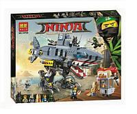 Конструктор BelaNinja Movie / Ниндзя 10799 Морской дьявол Гармадона (аналог Lego Ninjago Movie 70656)