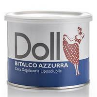 """Теплый воск для депиляции в банке Doll """"Тальк"""", 400 мл (Xanitalia) Италия"""