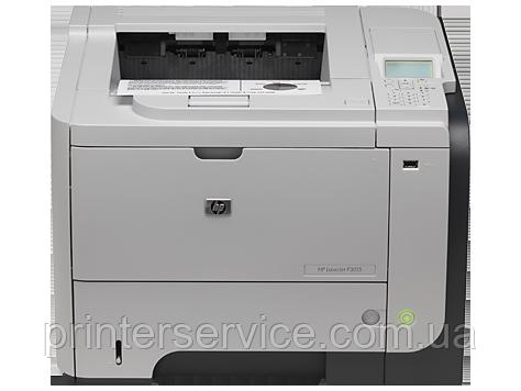 б/у принтер HP LJ p3015dn  формата А4 в хорошем состоянии