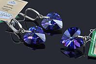 Набор сердечки с кристаллами Swarovski (Украина), фото 1