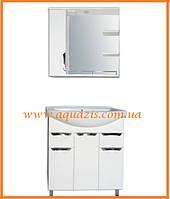 Мини-комплект мебели для ванной Грация 75 Т16-Z2Л