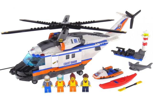 Конструктор Bela 10754 City Сверхмощный спасательный вертолет 439 дет | Аналог LEGO City 60166