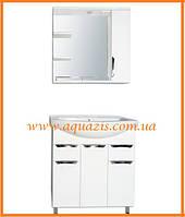 Мини-комплект мебели для ванной Грация 85 Т16-Z2П