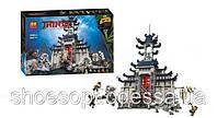 Конструктор Bela Ніндзя Ninja Temple великого зброї: 1449 деталей, 7 фігурок, фото 1